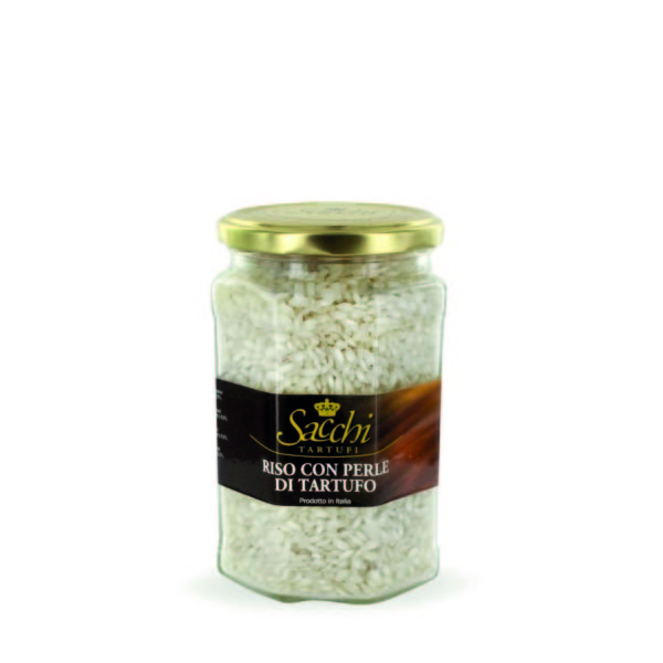 RICE WITH TRUFFLE PEARLS